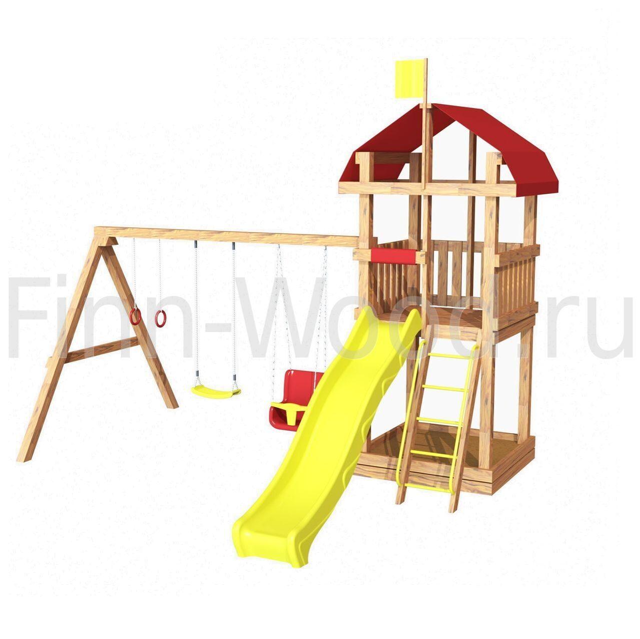 Детская площадка для дачи карусель